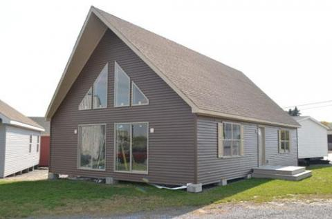 Cape chalet modular homes in pa for Chalet manufactured homes