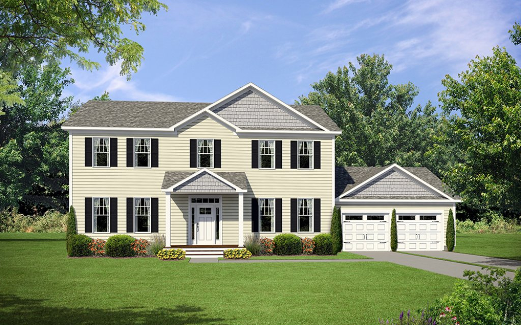 New Century Series Modular Two-Story TRENTON Featured Image