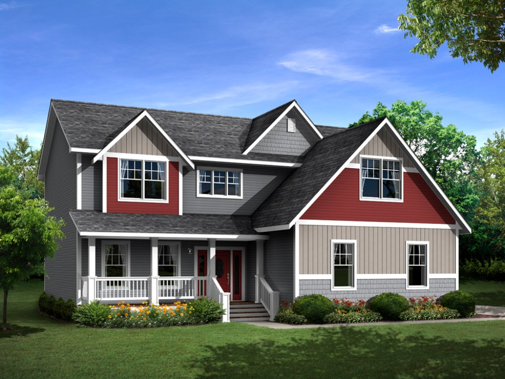 New Century Series Modular Two-Story ROCKPORT Featured Image