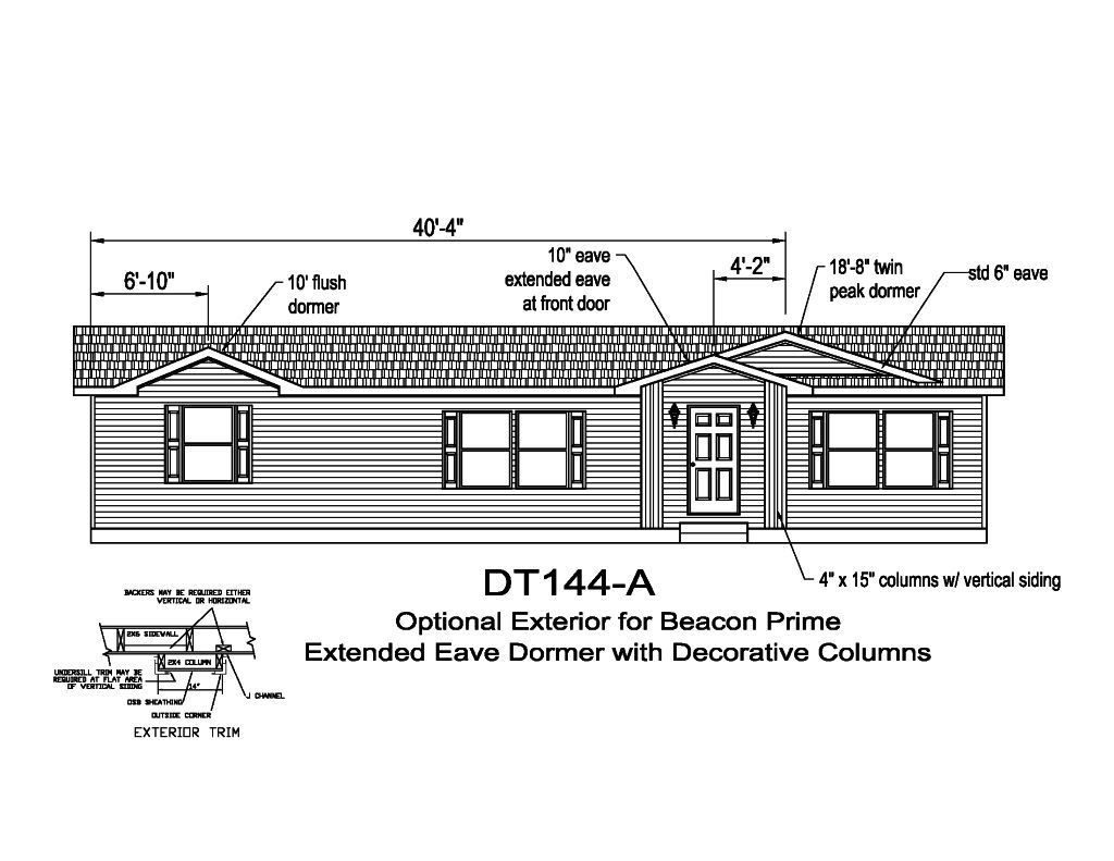 Colony Homes Beacon Modular Ranch Cape Series In Pa From Blacks Home Marlette Wiring Diagrams Db144a